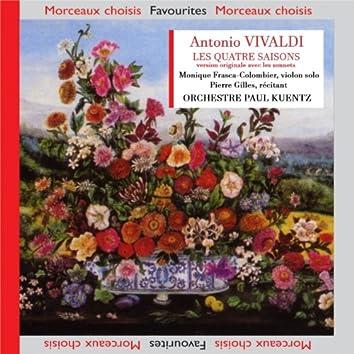Vivaldi: Les quatre saisons avec sonnets originaux