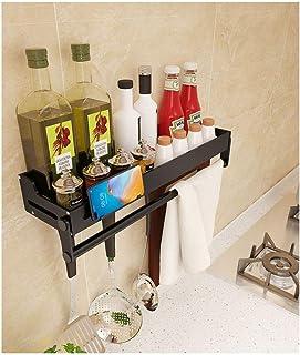 Étagère d'angle Douche Salle de bain Cuisine Douche Caddy Espace Aluminium douche étagère murale de rangement Organisateur...