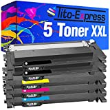 Tito-Express PlatinumSerie 5 Toner XXL kompatibel mit Samsung CLT-404S C430W C480W C480FN C480FW C482W SL-C430 SL-C430W SL-C480W SL-C480 SL-C480FW SL-C480FN SL-C483 SL-C483FW SL-C483W