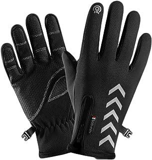 Muranba Unisex Winter Thermal Outdoor Sports Waterproof Windproof Screen Induction Glove