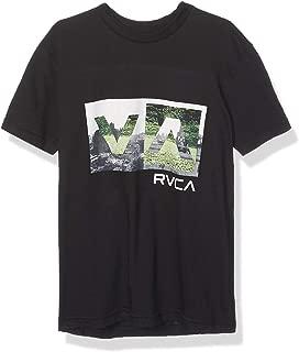 RVCA Boys B401WRBB Balance Box Short Sleeve Crew Neck T-Shirt Short Sleeve T-Shirt