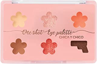 [CHICA Y CHICO] One shot eye palette adorable coral, mat, shimmer, glitter, vivid pigmentation, soft texture, long lasting, 9g…