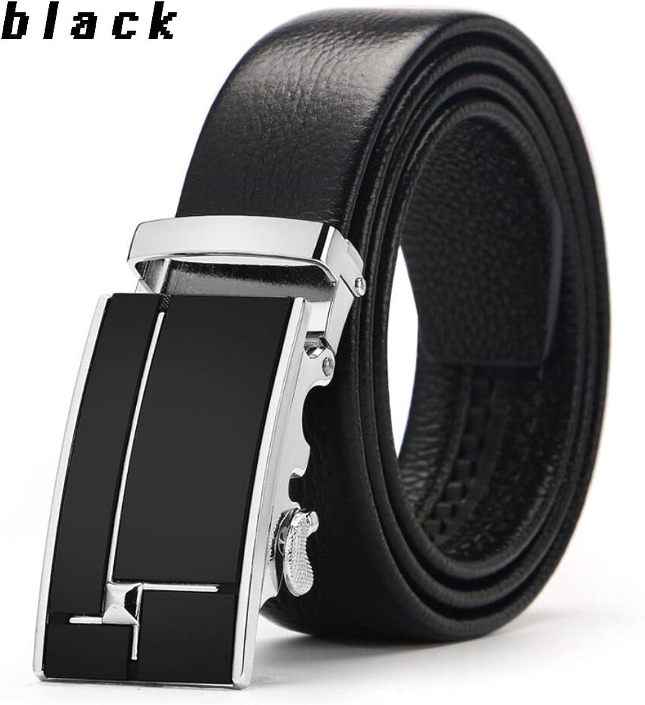 Men's Slide Buckle Belt,Business Stylish Leather,Easy Adjustable Belt,Casual Formal Belts,Comfortable Great for Jeans & Cowboy Wear & Work Clothes Uniforms