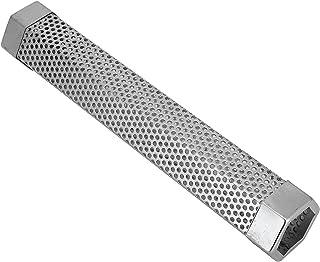 Perforerad designrökgenerator mot rost BBQ-rökare 12 tum för rökgasrökare med elgas(hexagon)