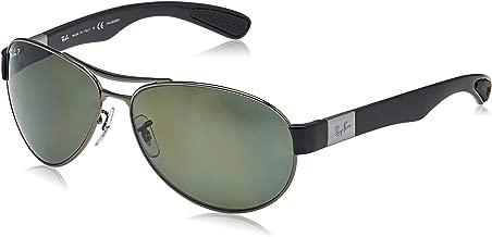 Ray-Ban 0RB3509 006/82 Polarized Active Lifestyle Pilot Sunglasses