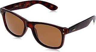 Local Supply Men's EVERYDAY Polarized Sunglasses - Dark Brown Tint Lens, Matte Tortoiseshell Frames