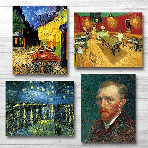 Van Gogh Canvas Wall Art Posters And Prints Of Famous Painting Abstract Wall Art