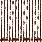 XHNXHN Cortina de Cuentas Cortina de Puerta de Madera Cuerdas Colgantes Panel Divisor de habitación Decoración Armario Balcón, Personalizable (Color: A, Tamaño: 41 hilos-120cmx176cm)