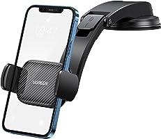 UGREEN Auto Telefoonhouder Ultra Sticky Zuignap Voorruit Dashboard Deur Draagbare Auto Compatibel met iPhone 13 Pro Max...
