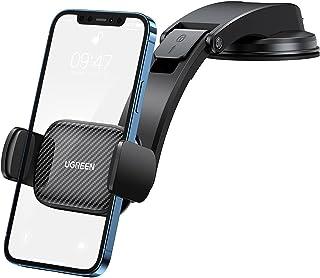 UGREEN Auto Telefoonhouder Ultra Sticky Zuignap Voorruit Dashboard Deur Draagbare Auto Compatibel met iPhone 13 Pro Max Mi...
