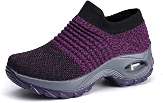 SKLT Sneakers Women Shoes Wedges Slip-On Solid Casual Shoes Woman Feminino Breathable Mesh Women Sneakers Ladies Shoes