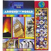 Encyclopedia Britannica Kids Around the World 30 Button Sound Book