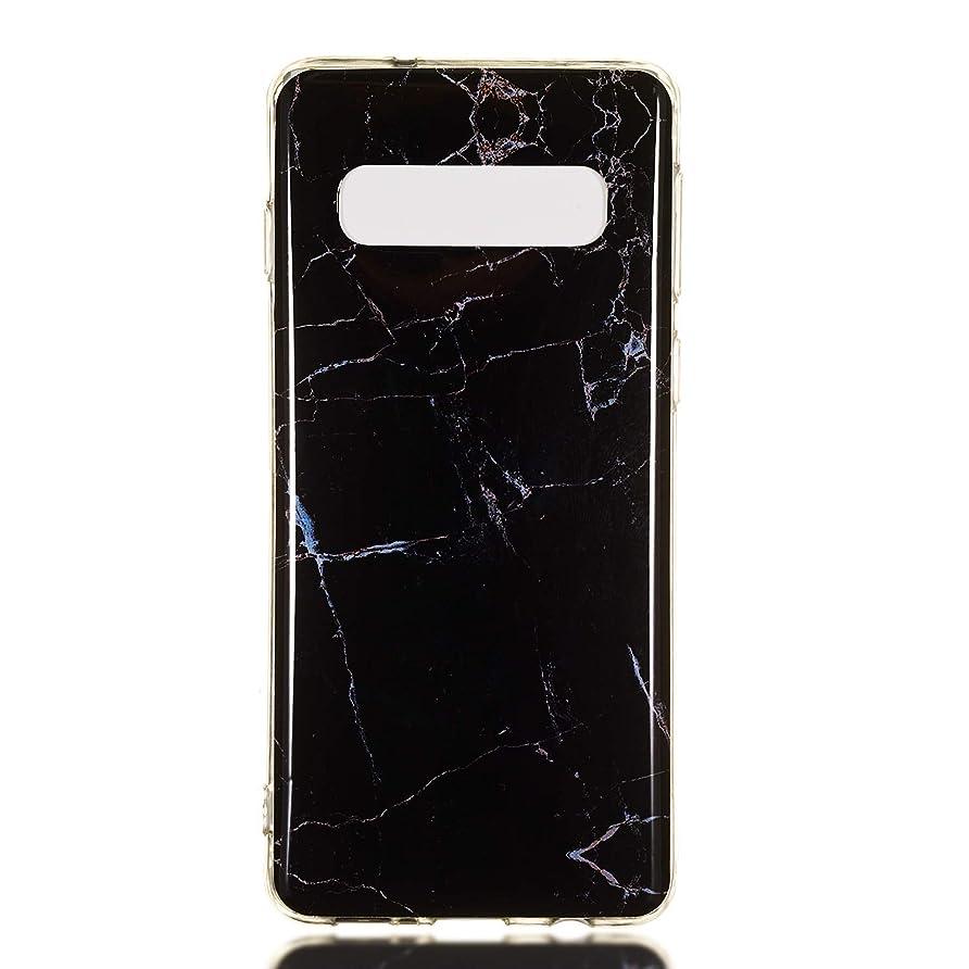尊厳無秩序上Galaxy S10 ケース シリコン ソフト, Lomogo ギャラクシーS10 ケース 携帯カバー 耐衝撃 防塵 おしゃれ - LOYHU190118#10