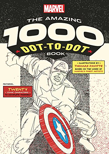 Marvel: The Amazing 1000 Dot-to-Dot Book (Numbers will be...
