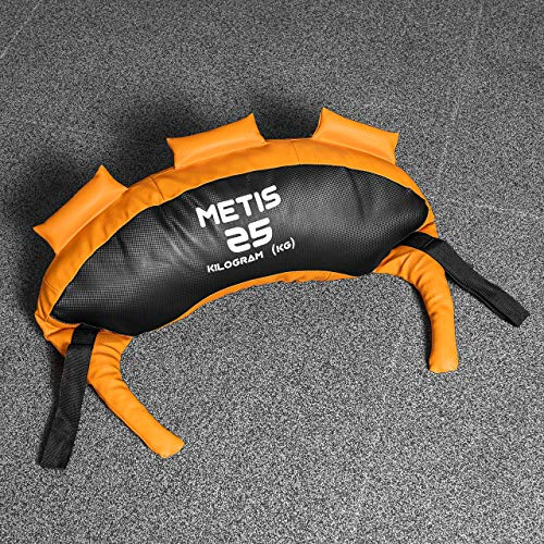 METIS Bulgarian Power Bags – 5 kg a 25 kg | Core Strength Fitness– Allenamento Domestico o Palestra, 25 kg