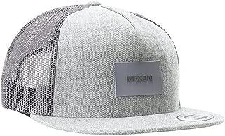 Nixon Team Trucker Snapback Hat Grey Heather