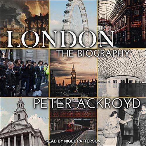 London Audiobook By Peter Ackroyd cover art