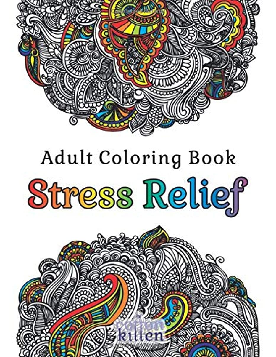 冷ややかな光のピースAdult Coloring Book - Stress Relief: 49 of the most exquisite designs for a relaxed and joyful coloring time