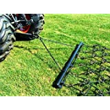 "Neat Attachments 4' x 5' 6"" Pasture Drag Chain Harrow - 1/2"" Dia - Overall 8-1/2 Ft. Long"