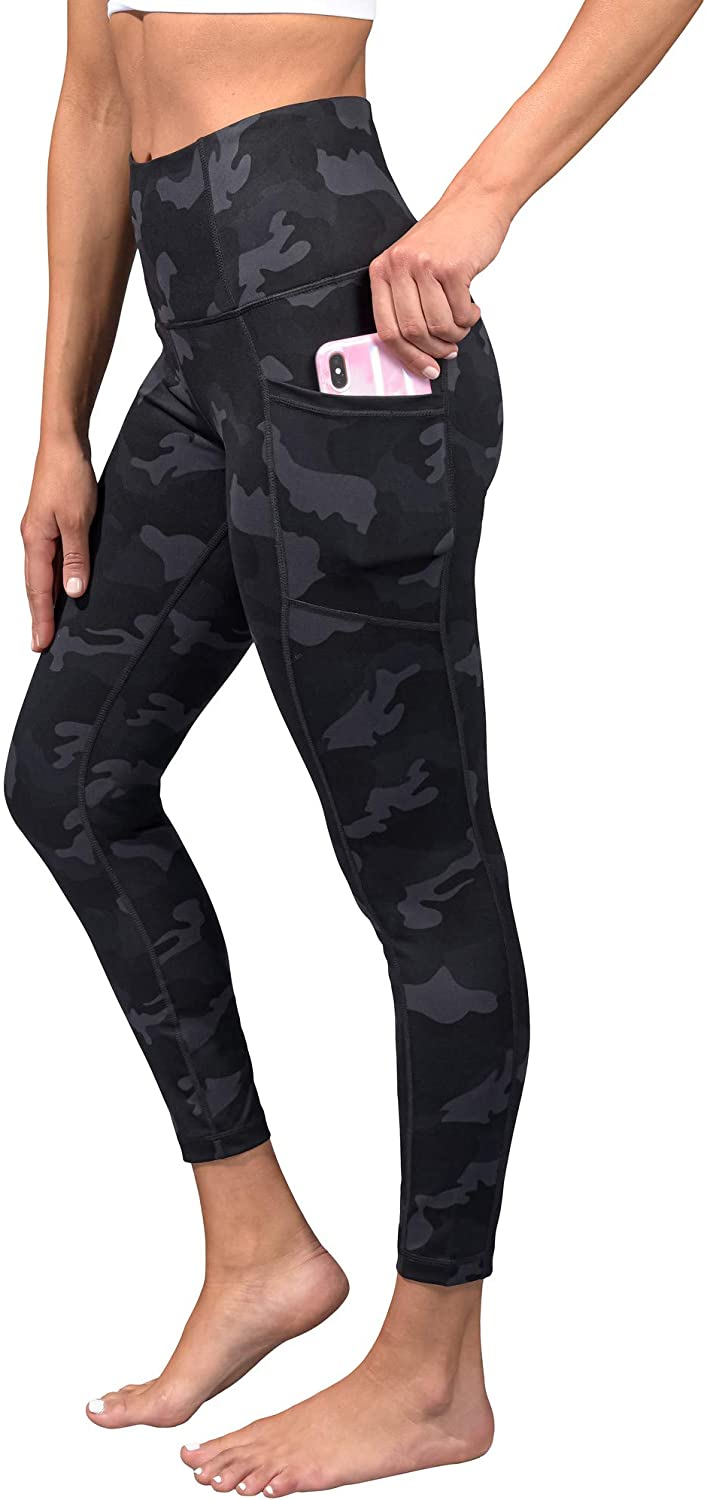 Yogalicious Sale special price Max 64% OFF High Waist Squat Proof Wom Printed for Soft Leggings