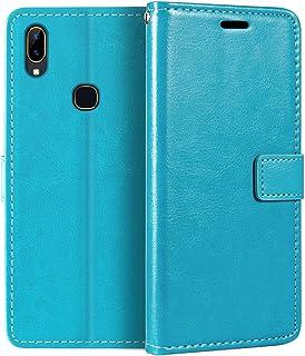 Vivo Y89 plånboksfodral, premium PU-läder magnetiskt flip fodral med korthållare och ställ för Vivo Y89