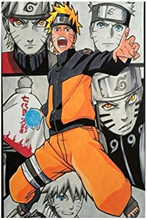 xiaoxian Anime Naruto Otaku Anime Poster Pintura Decorativa Lienzo Wall Art Living Room Poster Pintura Dormitorio 20 x 30 cm