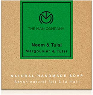 The Man Company Antiseptic Soap with Neem and Tulsi (125 gm)