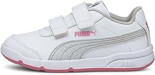 PUMA Baby-girls Stepfleex Shoes, Color: White Size: 18.5 EU
