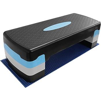 RIORES (リオレス) エアロビクスステップ 踏み台昇降運動 高さ2段階 10cm/15cm