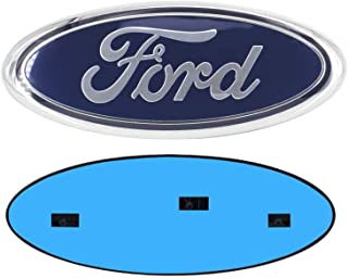 9 Inch For ford Front Grille Tailgate Emblem, Oval...