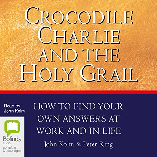 Crocodile Charlie and the Holy Grail audiobook cover art