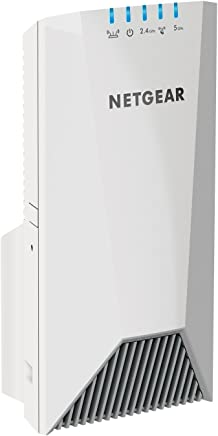 $97 Get NETGEAR Wi-Fi Mesh Range Extender EX7500 - Coverage up to 2000 sq.ft. and 40 devices with AC2200 Tri-Band Wireless Signal Booster & Repeater (up to 2200Mbps speed), plus Mesh Smart Roaming