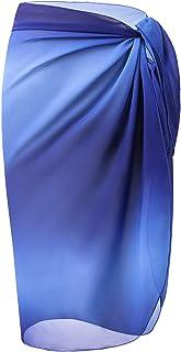 LIENRIDY Women's Sarong Swimsuit Cover Up Summer Beach Wrap Skirt Swimwear Bikini Cover-ups