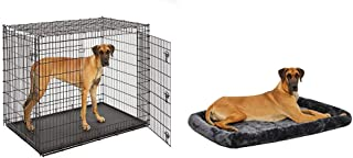 MidWest Homes for Pets XXL Giant Dog Crate w/Matching Crate Bed