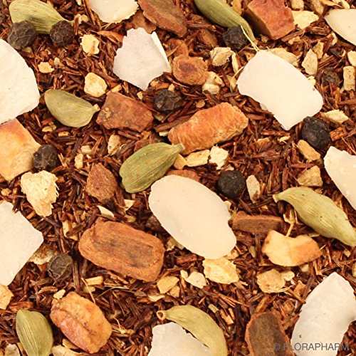 Rooibostee aromatisiert Winterpunsch Nachfüllpack 200g mit Ingwer-Kokos-Geschmack Lose