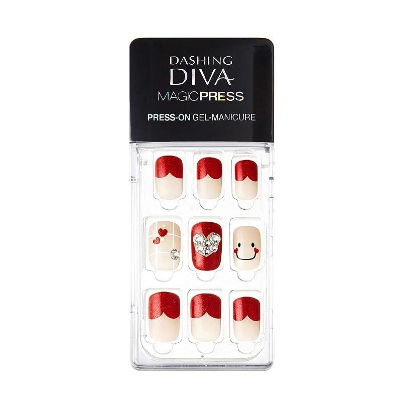不機嫌そうなクック起業家ダッシングディバ マジックプレス DASHING DIVA MagicPress MDR114-DURY+ オリジナルジェル ネイルチップ