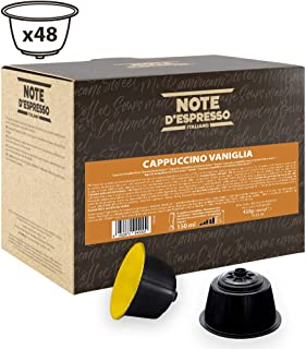 comprar comparacion Note D'Espresso Cápsulas de Capuchino con Vainilla - 48 x 9 g, Total: 432 g