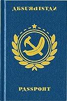 パスポートみたいなおしゃれな ノート パスポートジャーナル(Absurdistan)