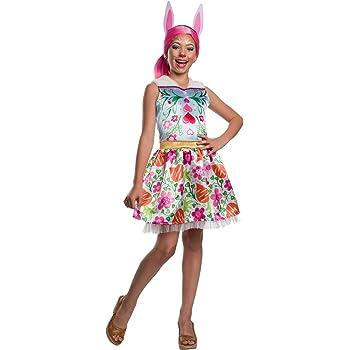 Enchantimals - Disfraz de Felicity Fox para niña, Talla 5-7 años ...