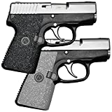 Galloway Precision TractionGrips Grip Overlay in Black for Kahr P380 and CW380 Pistols