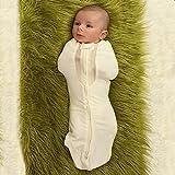 Woombie Air Nursery Swaddling Blanket - for Babies Up to 3 Months - Vented (Freebird, 5-13 lbs)