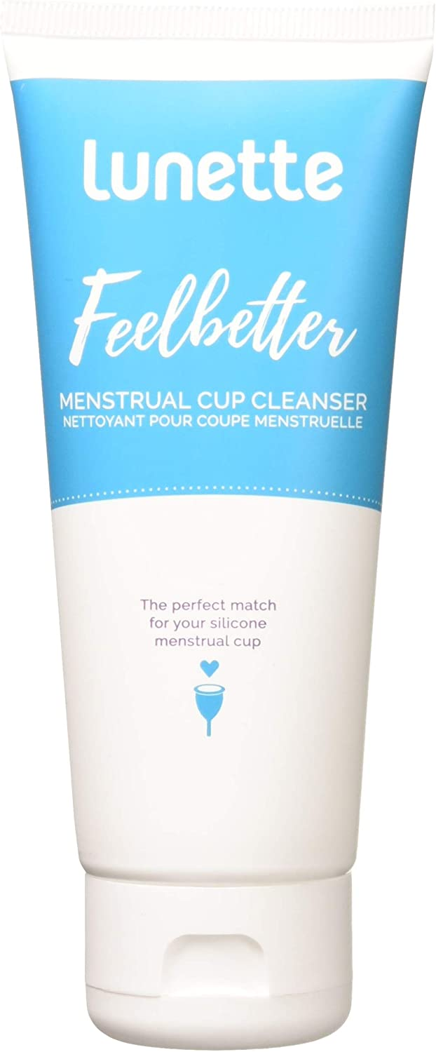 Lunette Feelbetter New products world's Boston Mall highest quality popular Menstrual Cup Cleanser 3.4 fl Perfect - oz Ma