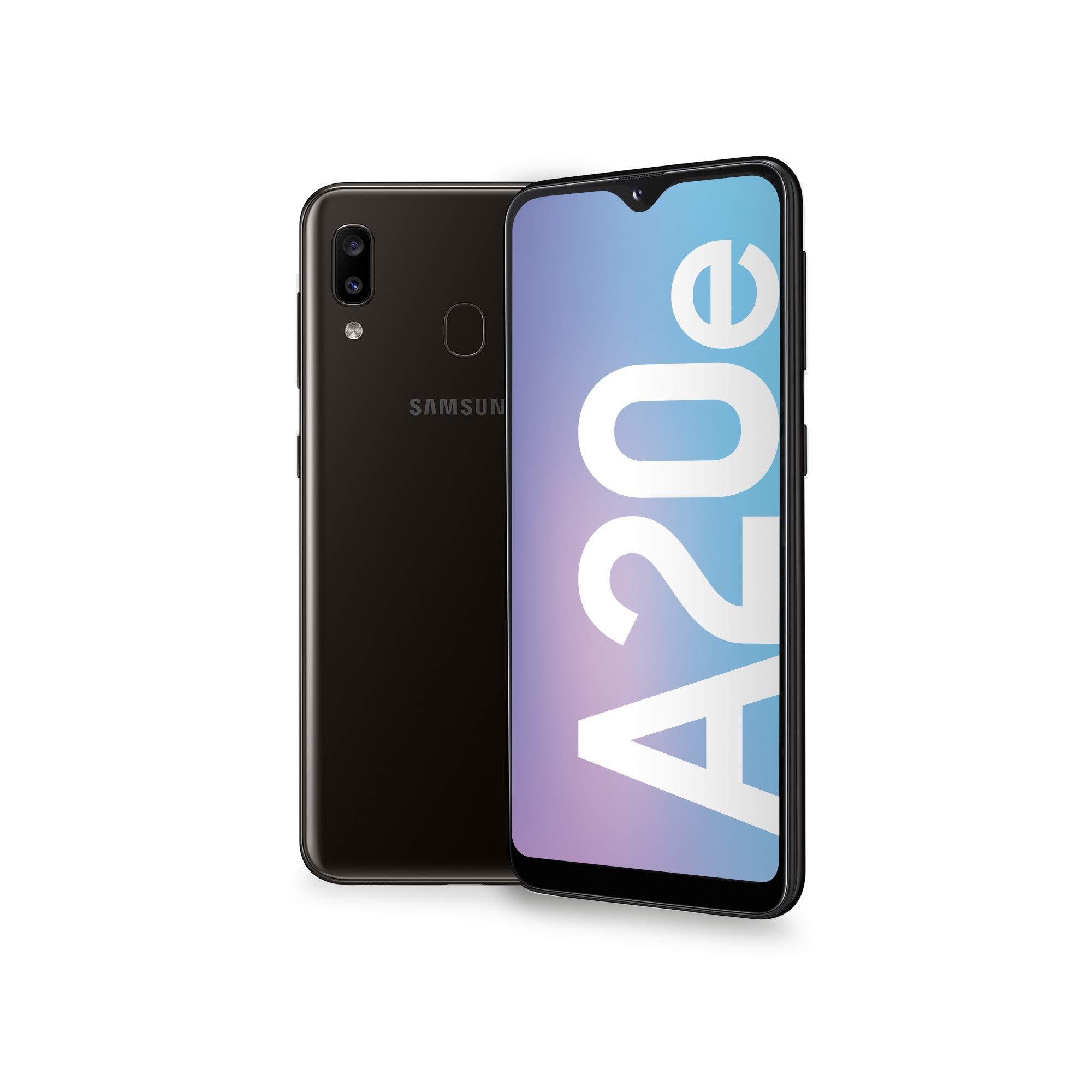 Samsung A202 Galaxy A20e 4G 32GB Dual-SIM Black EU: Samsung ...