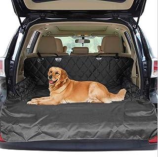 Pet car trunk mat | waterproof car mat dog travel cushion | dog car seat cover | waterproof dog hammock rear seat protecti...