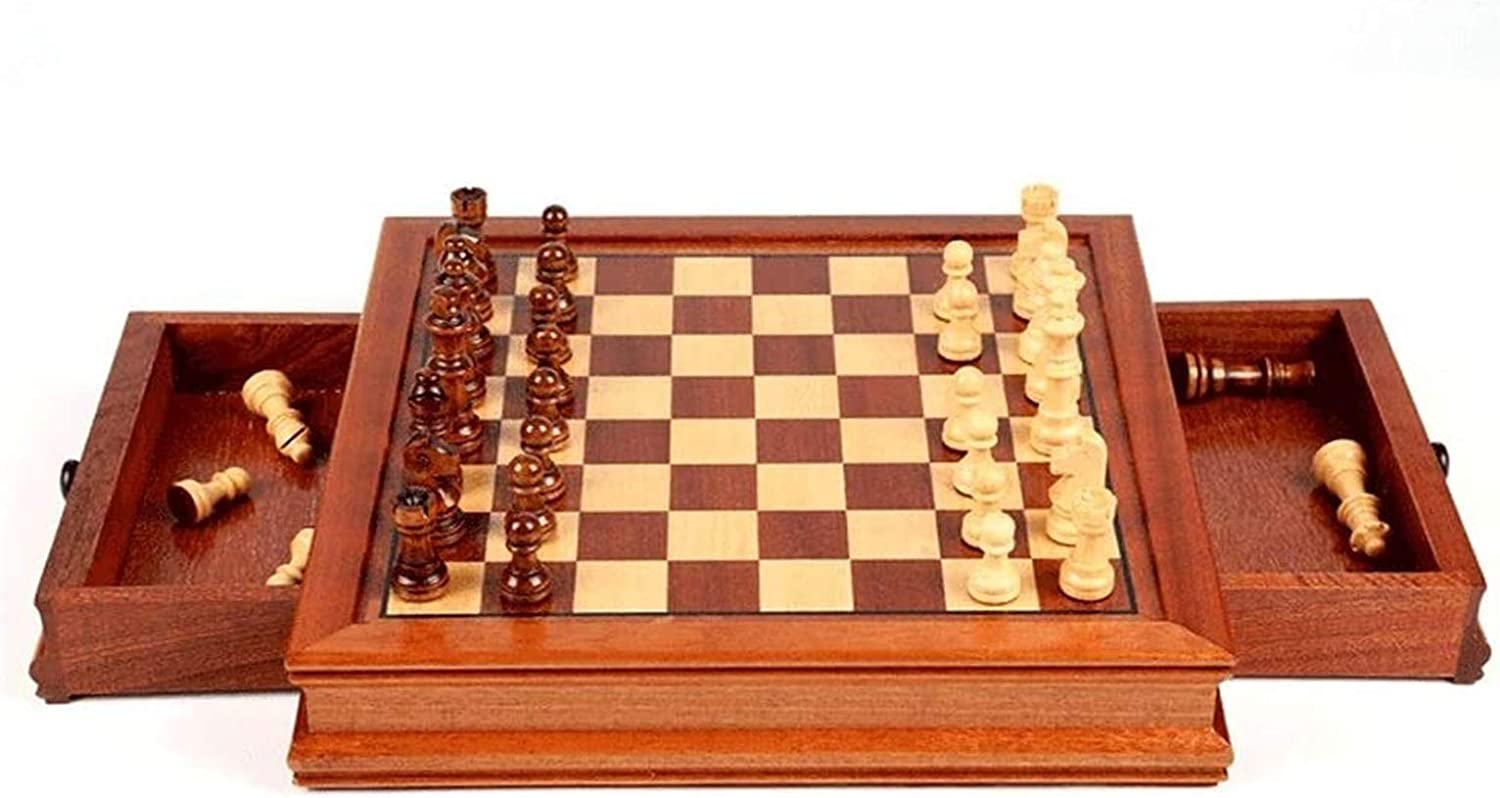 Parent-Child Interactive Game Handmade Free Shipping New Chess Set-Solid depot Magnetic