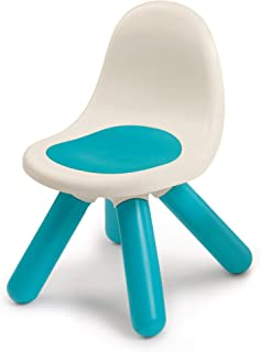Smoby - Kid Chaise - Mobilier pour Enfant - Dès 18 Mois - Intérieur et Extérieur - Bleu - 880104