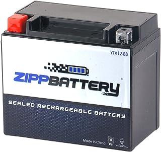 Chrome Battery YTX12-BS lead_acid_battery