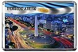 C324 BUENOS AIRES FRIDGE MAGNET ARGENTINA TRAVEL PHOTO CALAMITA DA FRIGO