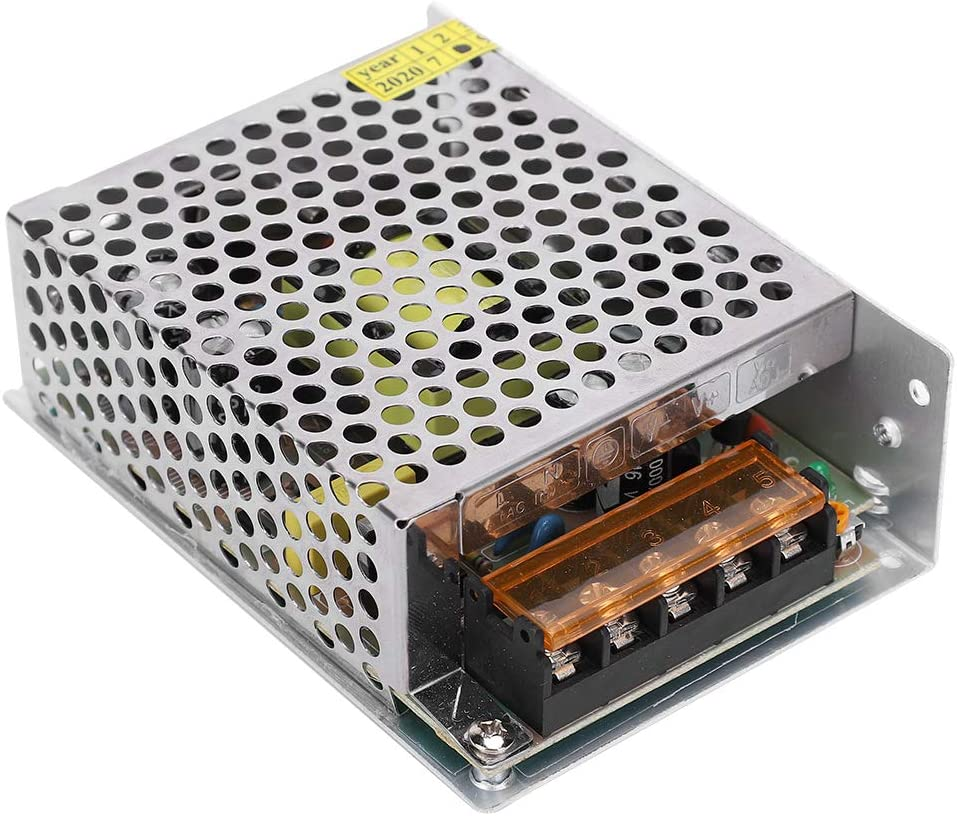 S-36-12(12V//3A//36W)AC100-240V Switch Power Supply Driver Adapter Power Transformer DC12V Aluminum Alloy LED Screen Light Bar Driver with High Working Efficiency