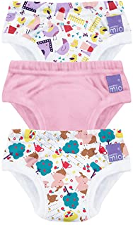 Bambino Mio, potträningsbyxor, griskofoder, 3 år, 3-pack med 3